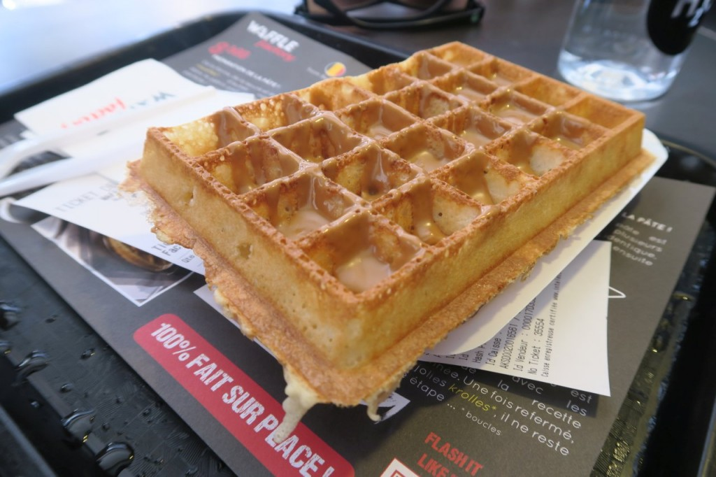the mother of all waffles. completely different from the liege